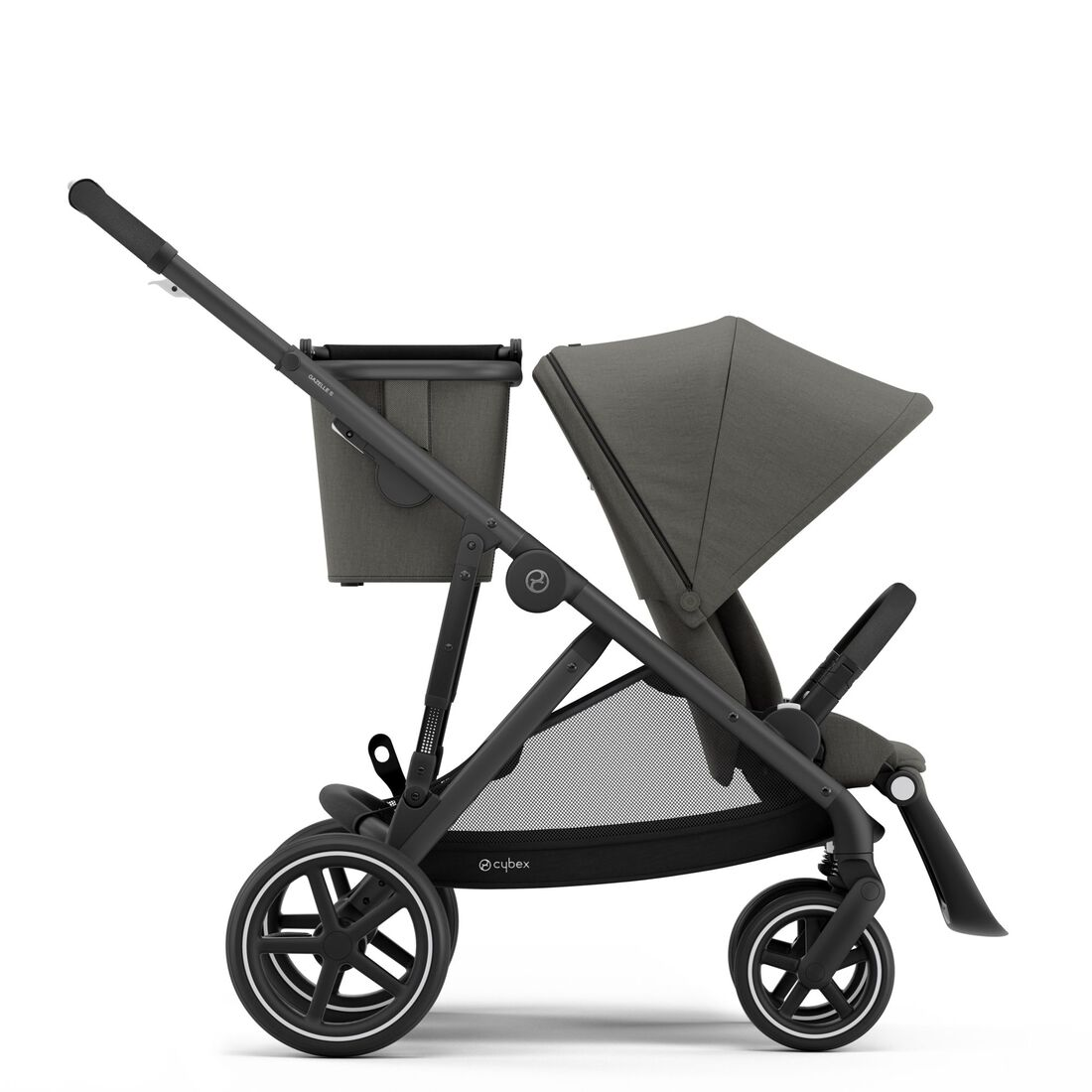 CYBEX Gazelle S - Soho Grey (Schwarzer Rahmen) in Soho Grey (Black Frame) large Bild 1