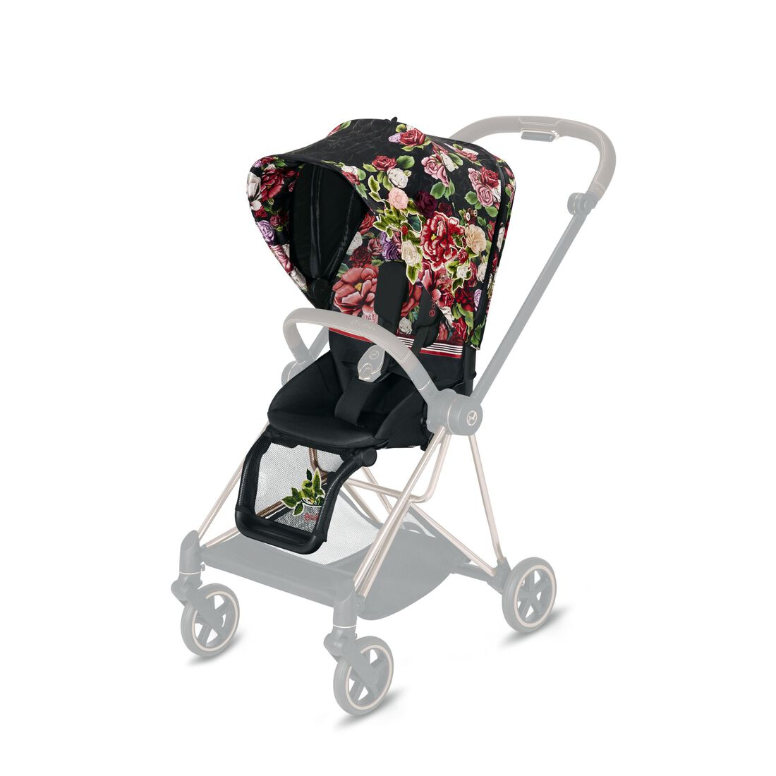 CYBEX Mios Seat Pack - Spring Blossom Dark in Spring Blossom Dark large image number 1