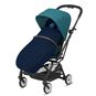 CYBEX Gold Footmuff - Navy Blue in Navy Blue large image number 3 Small