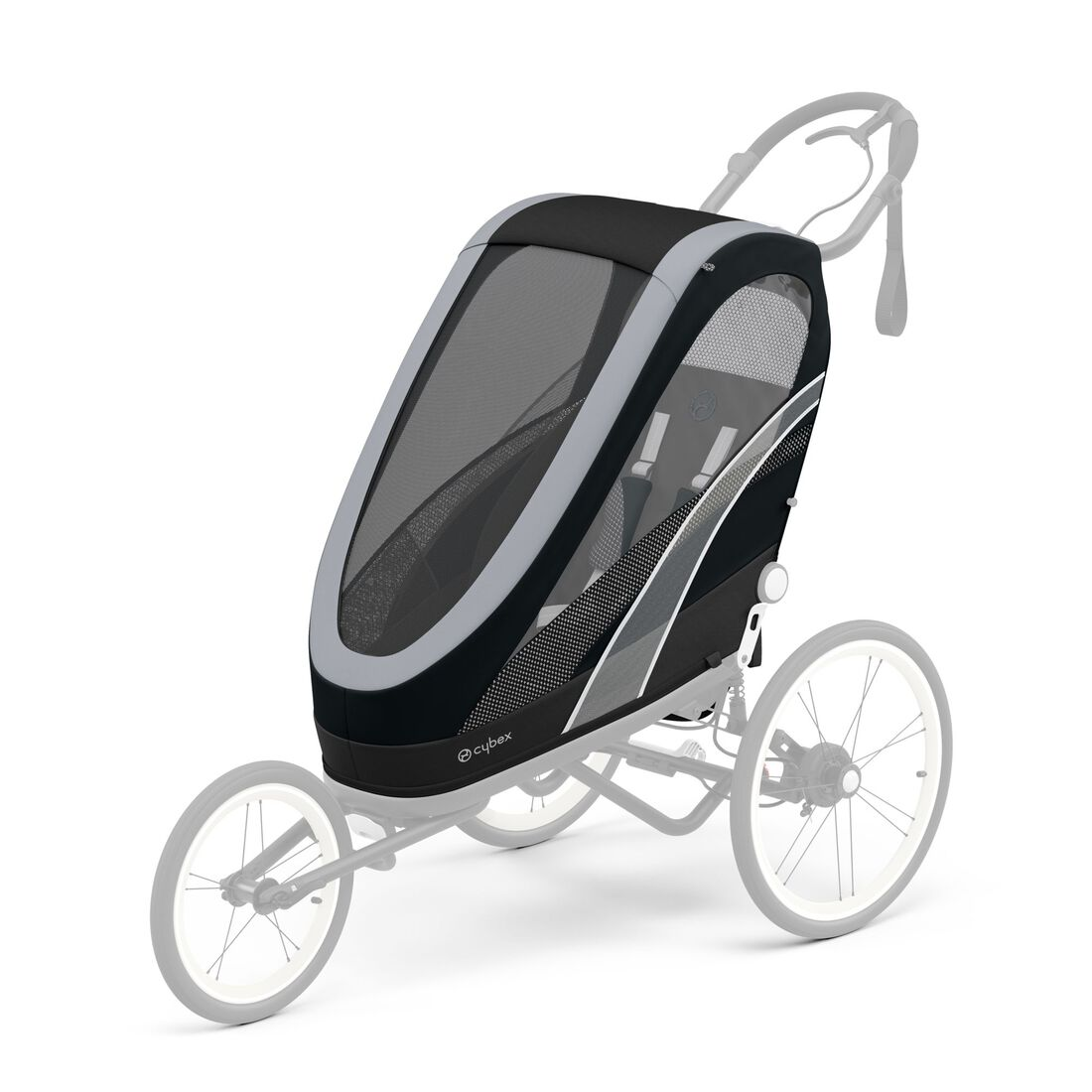 CYBEX Zeno One Box - All Black in All Black large image number 3