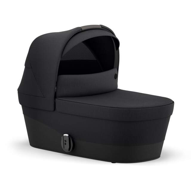 Gazelle S Cot - Deep Black