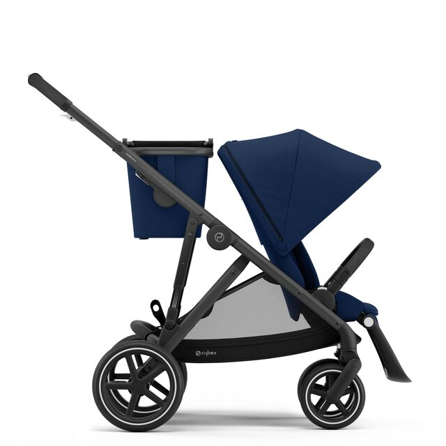 Gazelle S - Navy Blue (Schwarzer Rahmen)