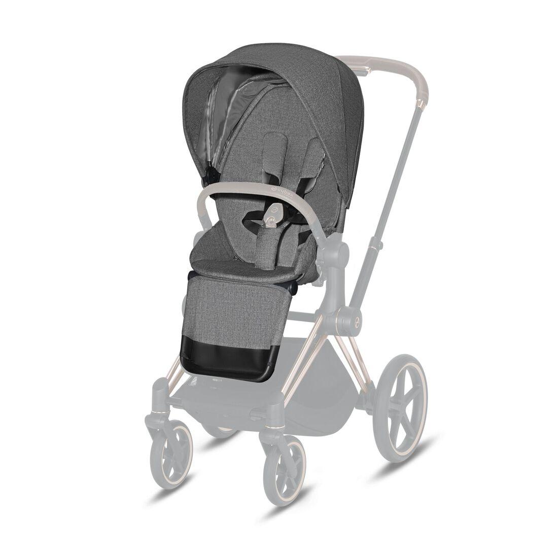 CYBEX Priam Seat Pack - Manhattan Grey Plus in Manhattan Grey Plus large image number 1