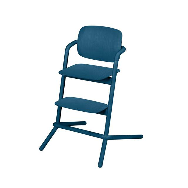Lemo Chair - Twilight Blue (Wood)