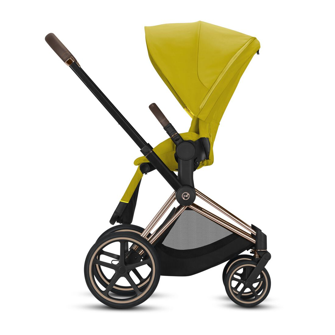 CYBEX Priam Seat Pack - Mustard Yellow in Mustard Yellow large image number 2