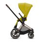CYBEX Priam Seat Pack - Mustard Yellow in Mustard Yellow large image number 2 Small