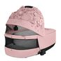 CYBEX Priam Lux Carry Cot - Pale Blush in Pale Blush large image number 4 Small