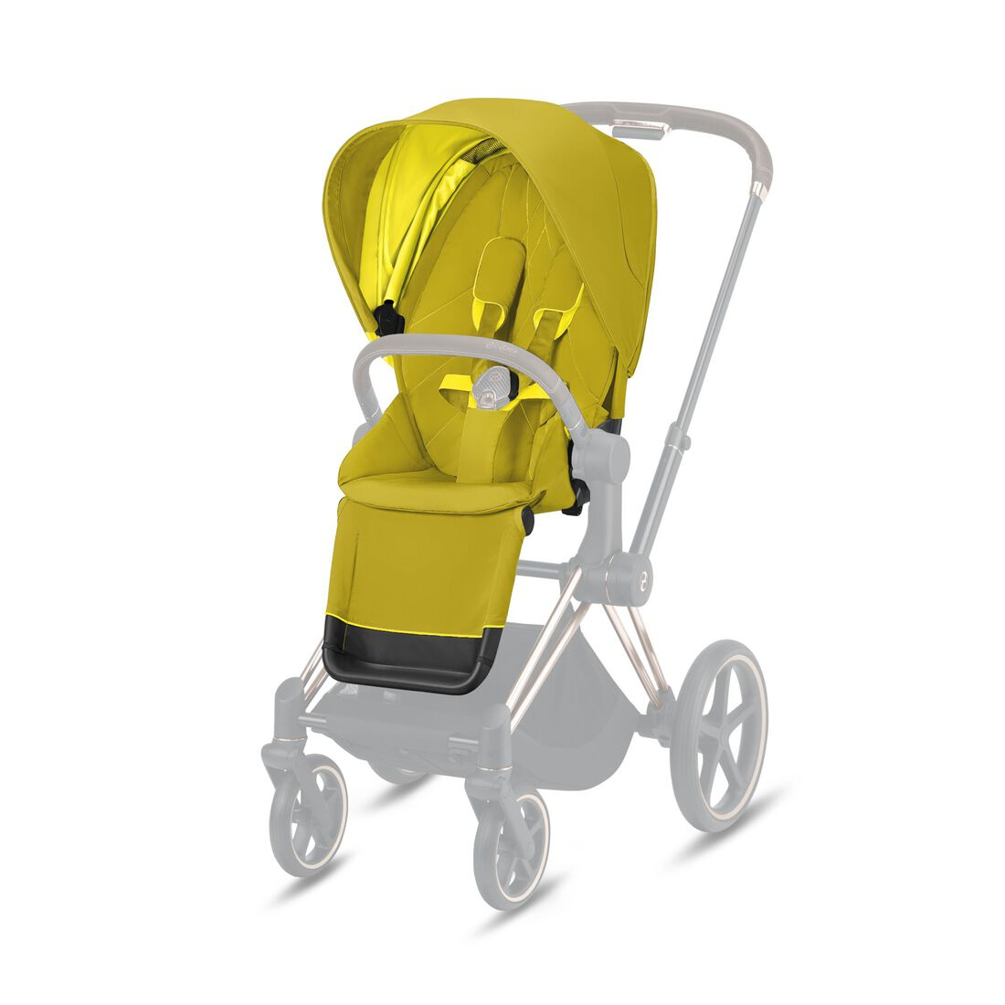 CYBEX Priam Seat Pack - Mustard Yellow in Mustard Yellow large image number 1