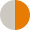 Creme With Orange Details