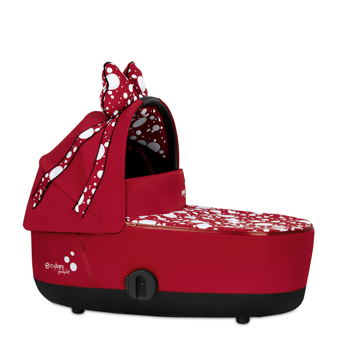 CYBEX Mios Lux Carry Cot - Petticoat Red in Petticoat Red large image number 1