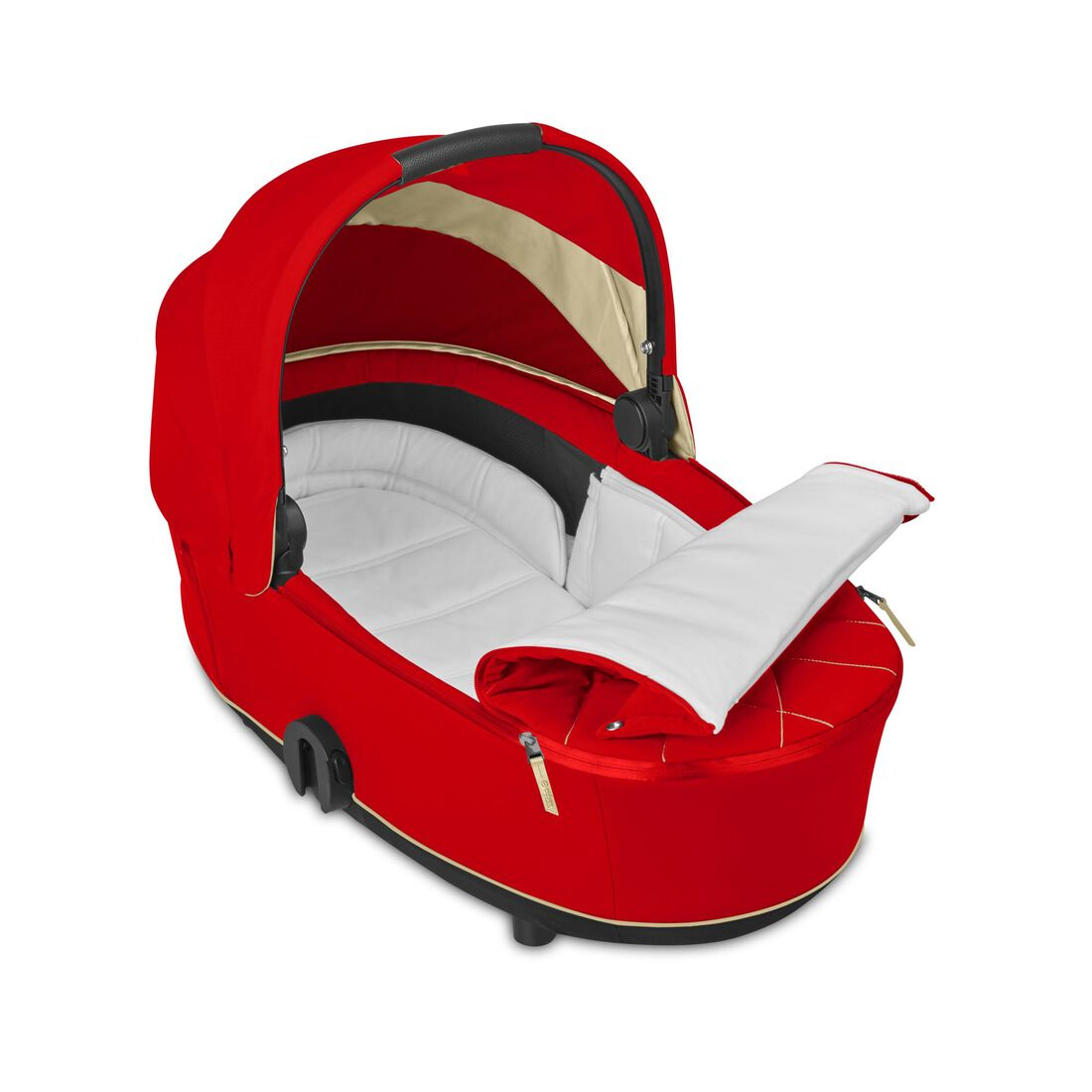 CYBEX Mios Lux Carry Cot - Autumn Gold in Autumn Gold large image number 2