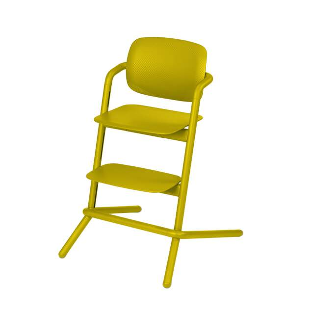 Lemo Chair - Canary Yellow (Plastic)