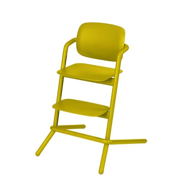 Lemo Chair - Canary Yellow (Plastic)