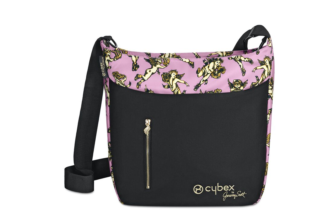 Jeremy Scott Cherubs Wickeltasche Pink