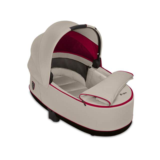 Priam Lux Carry Cot - Ferrari Silver Grey