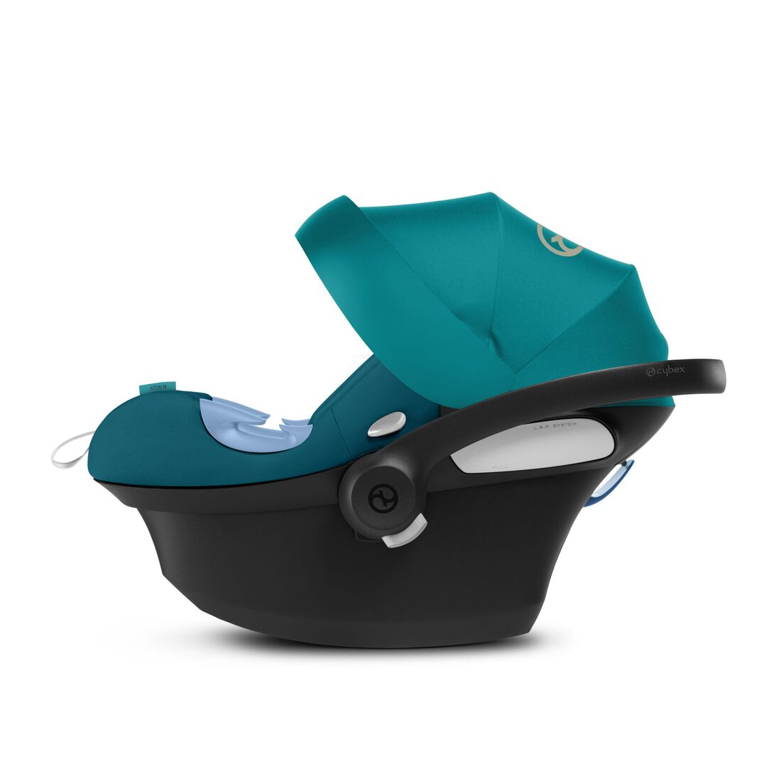 CYBEX Aton M i-Size - River Blue in River Blue large image number 4