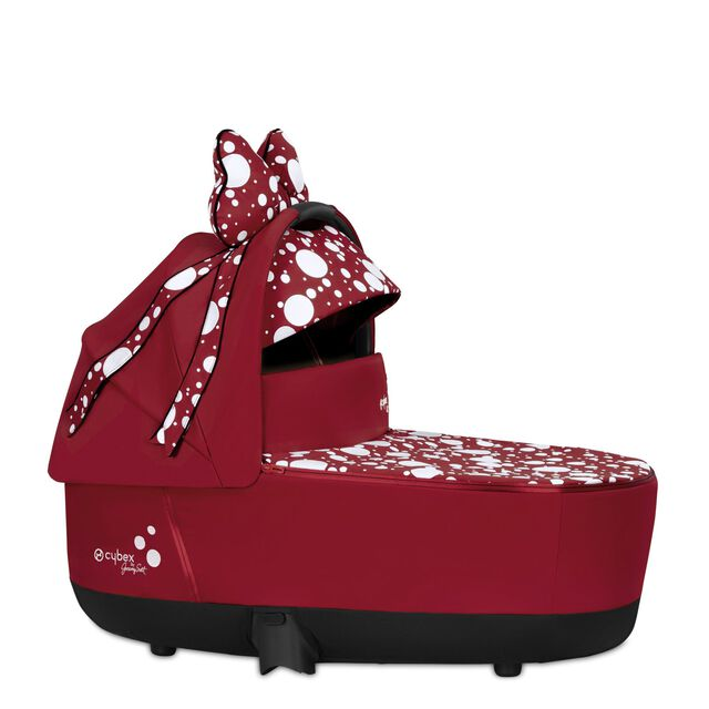 Priam Lux Carry Cot - Petticoat Red