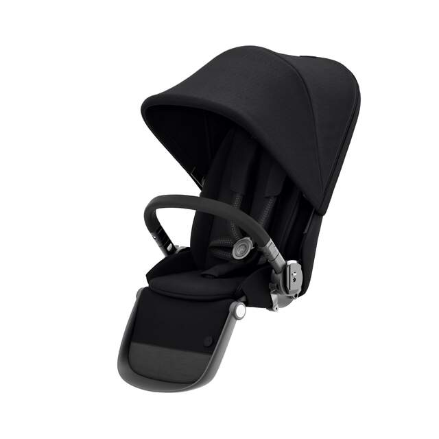 Gazelle S Sitzeinheit - Deep Black (Schwarzer Rahmen)