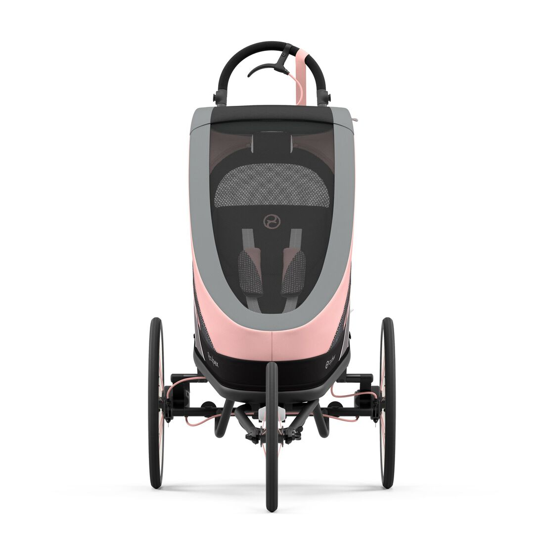 CYBEX Zeno Seat Pack - Silver Pink in Silver Pink large image number 3