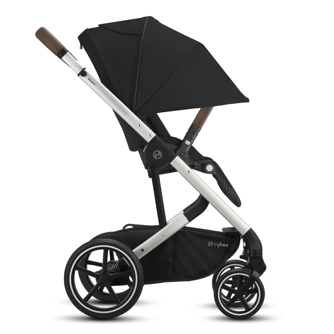 CYBEX Balios S Lux - Deep Black (Silver Frame) in Deep Black (Silver Frame) large image number 5