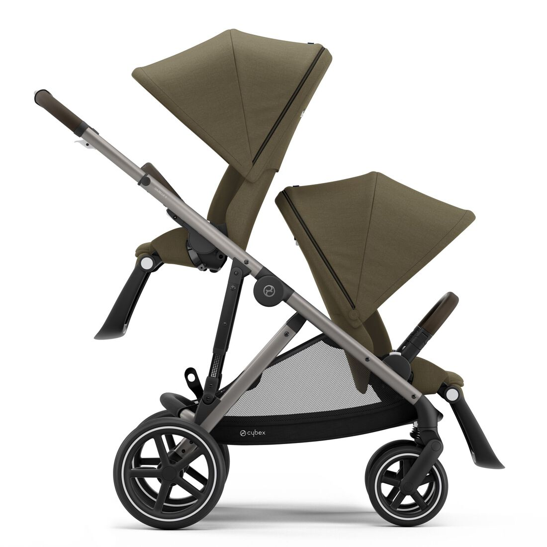CYBEX Gazelle S - Classic Beige (Taupe Frame) in Classic Beige (Taupe Frame) large image number 2