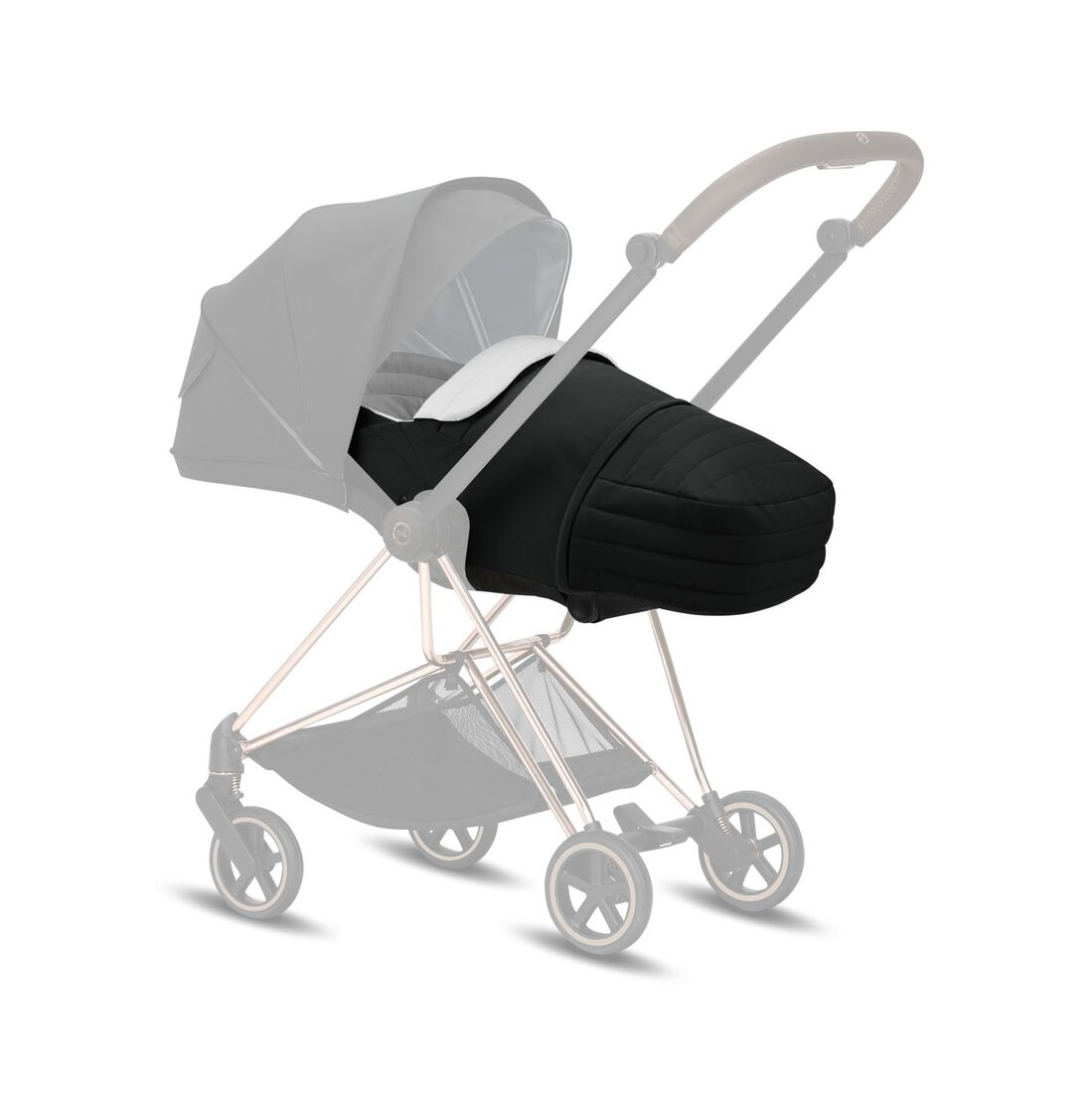 CYBEX Lite Cot - Deep Black in Deep Black large