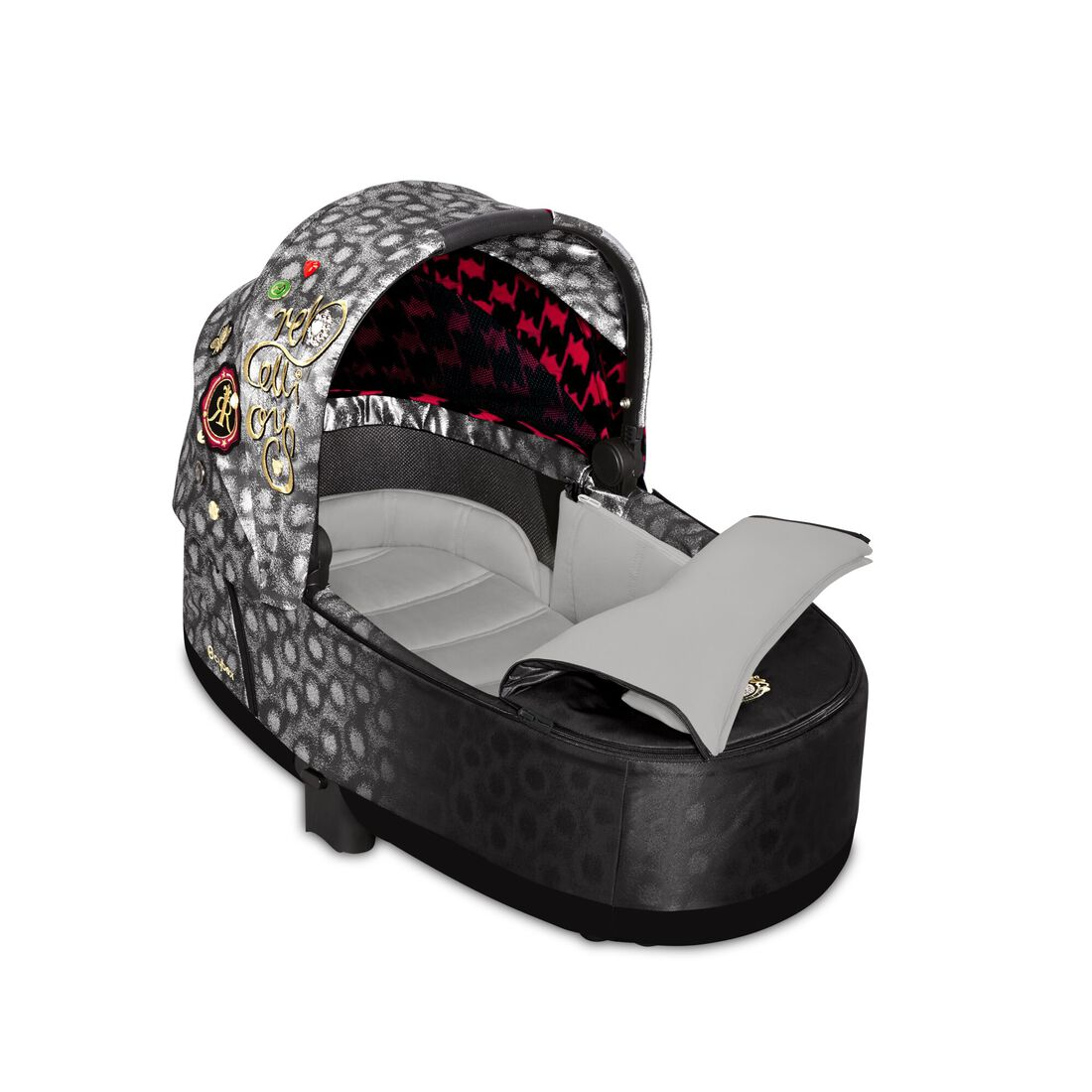 CYBEX Priam Lux Carry Cot - Rebellious in Rebellious large image number 2