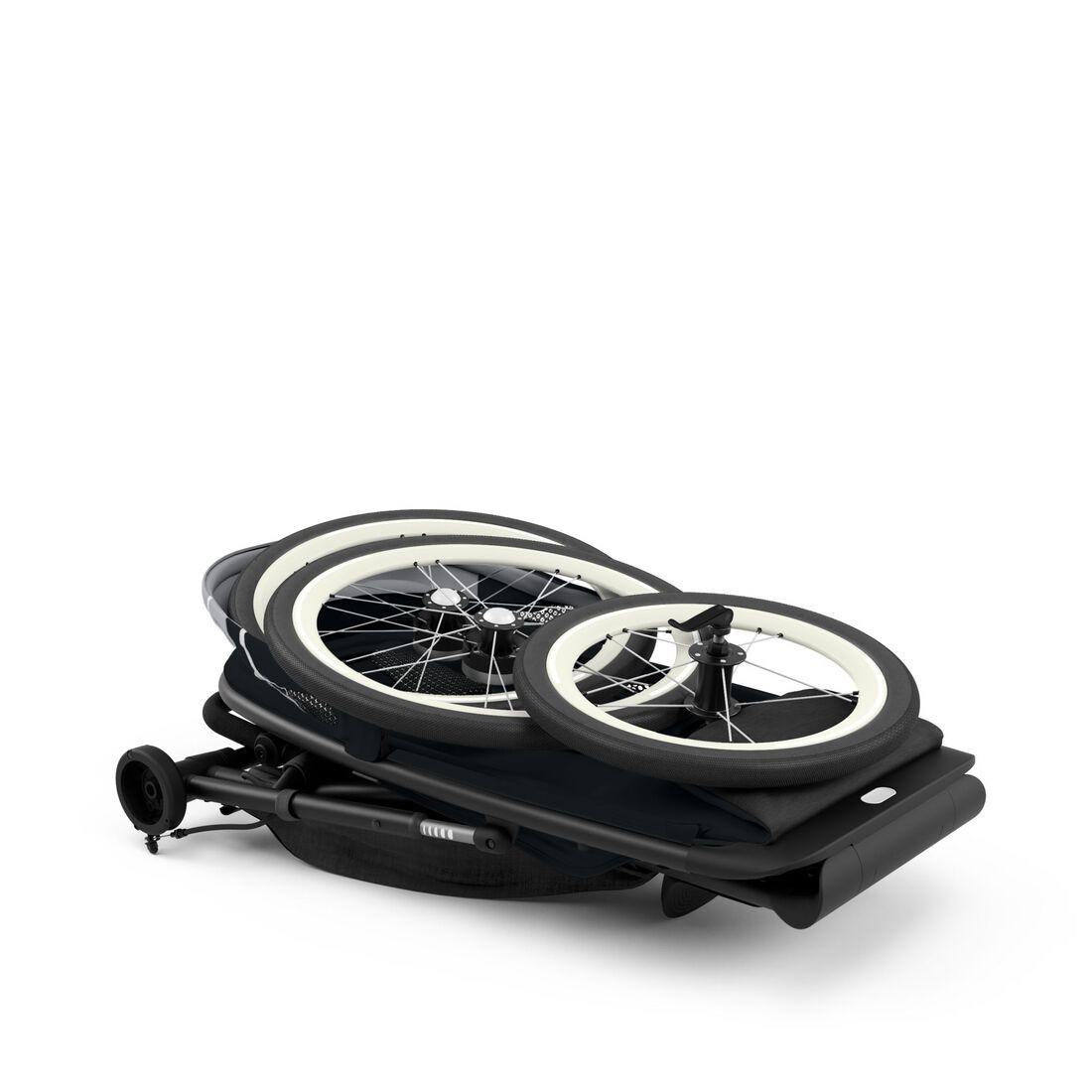 CYBEX Avi Rahmen - Schwarz mit schwarzen Details in Black With Black Details large