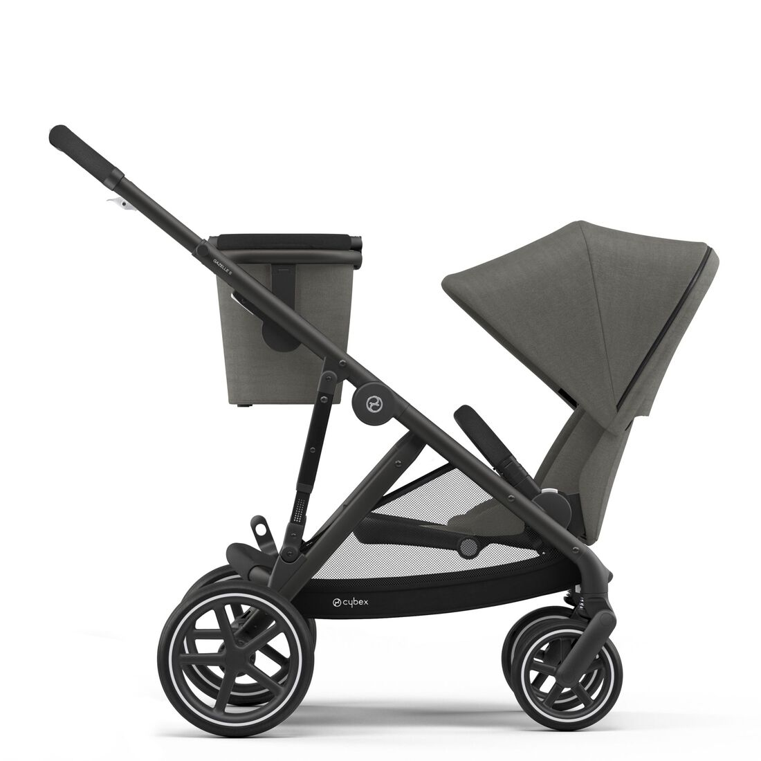 CYBEX Gazelle S - Soho Grey (Schwarzer Rahmen) in Soho Grey (Black Frame) large Bild 5