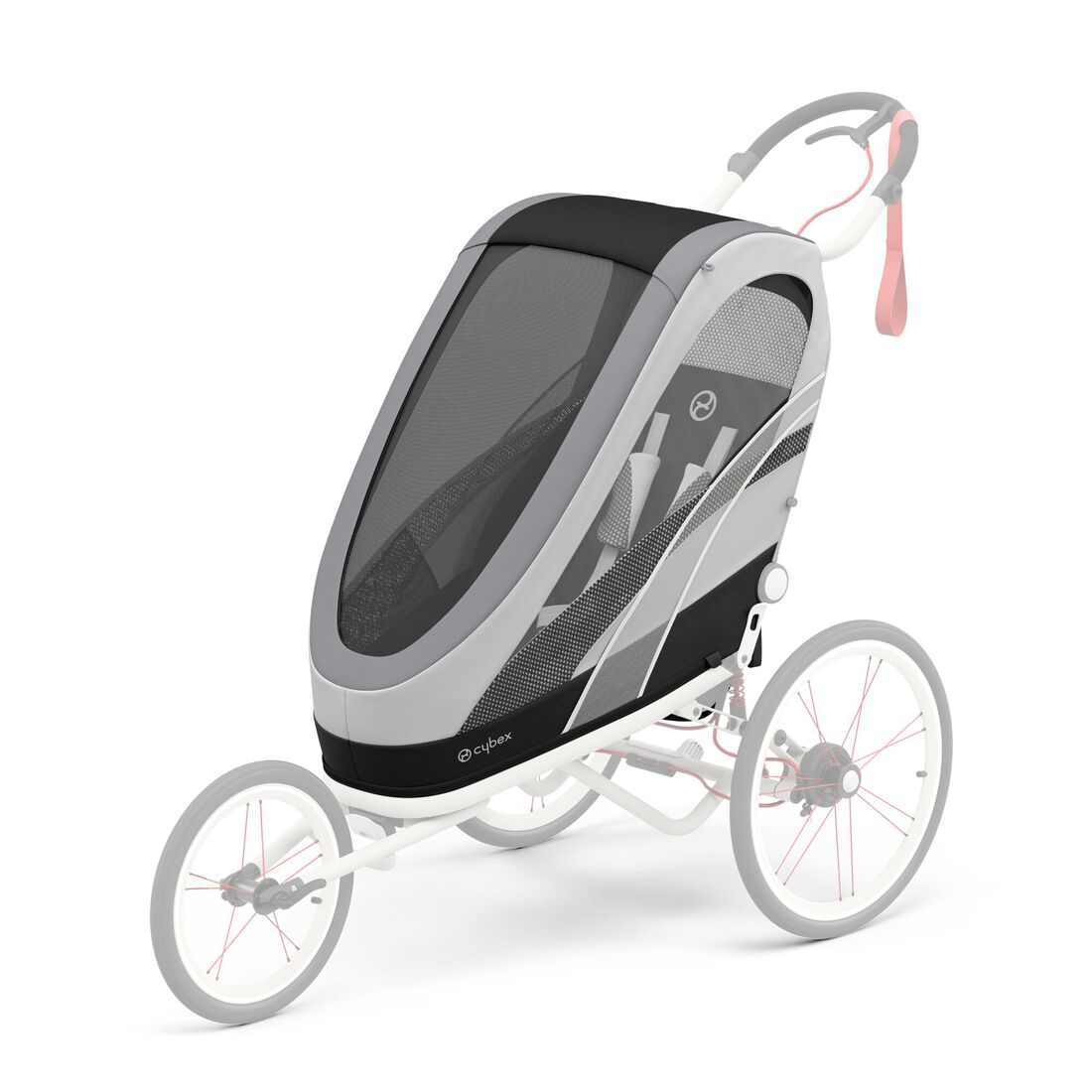 CYBEX Zeno Seat Pack - Medal Grey in Medal Grey large image number 1
