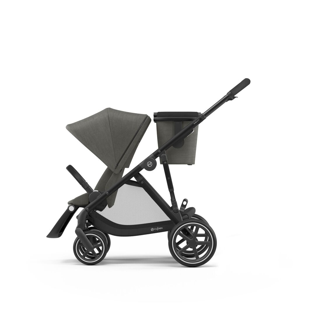 CYBEX Gazelle S - Soho Grey (Schwarzer Rahmen) in Soho Grey (Black Frame) large Bild 1