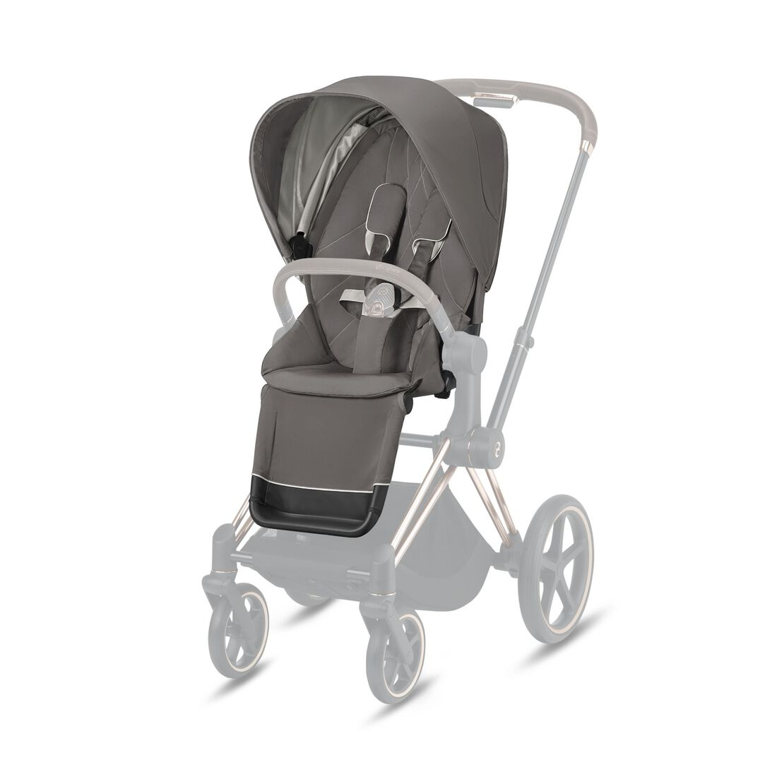 CYBEX Priam Seat Pack - Soho Grey in Soho Grey large image number 1