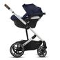 CYBEX Balios S Lux - Navy Blue (Silver Frame) in Navy Blue (Silver Frame) large image number 3 Small