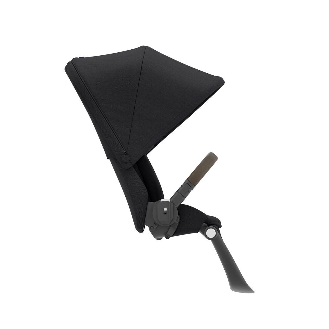 CYBEX Gazelle S Seat Unit - Deep Black (Taupe Frame) in Deep Black (Taupe Frame) large image number 2