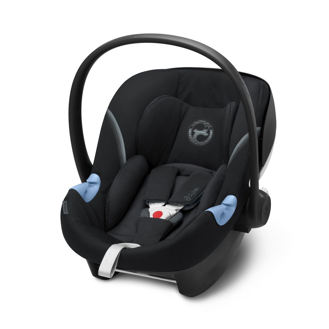 CYBEX Aton M i-Size - Deep Black in Deep Black large image number 1