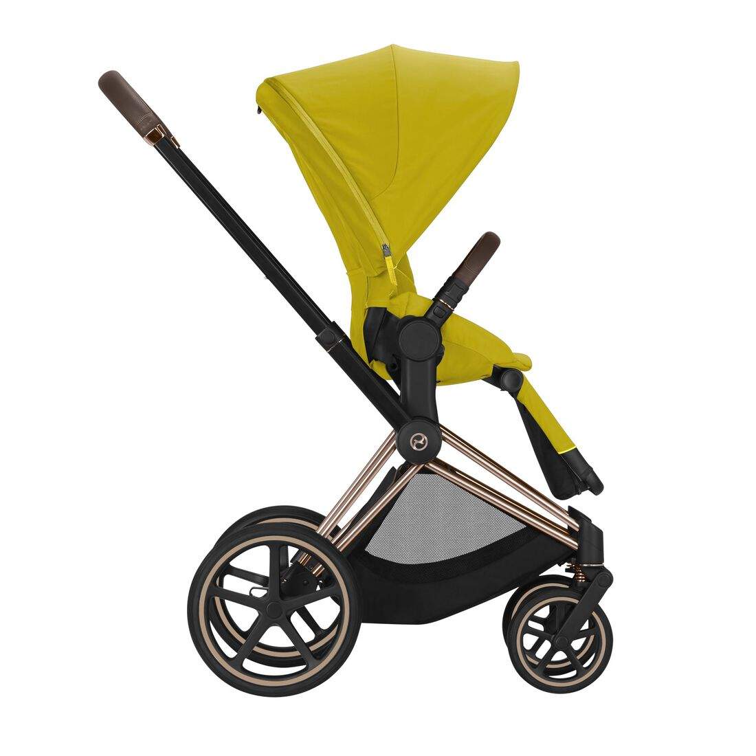 CYBEX Priam Seat Pack - Mustard Yellow in Mustard Yellow large image number 3