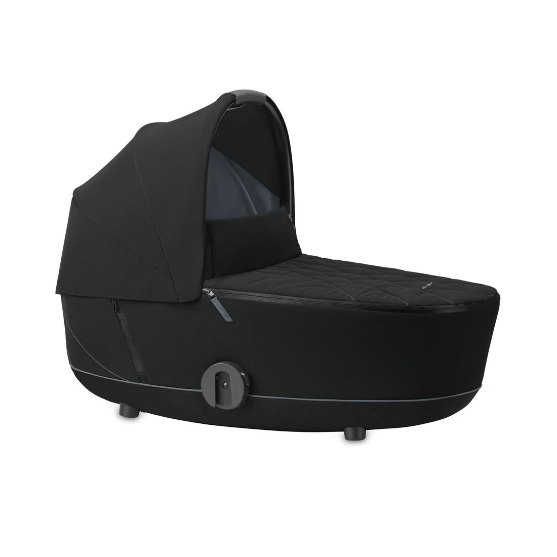 CYBEX Mios Lux Carry Cot - Deep Black in Deep Black large image number 1