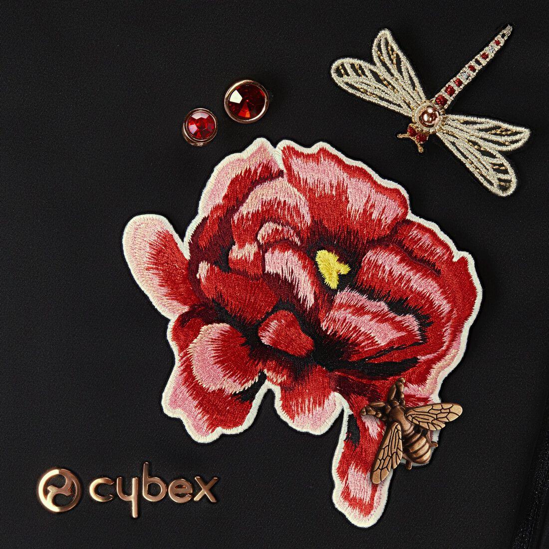 CYBEX Platinum Footmuff - Spring Blossom Dark in Spring Blossom Dark large image number 3