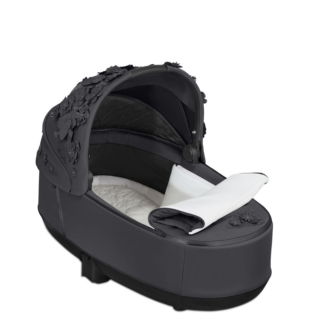 CYBEX Priam Lux Carry Cot - Dream Grey in Dream Grey large image number 3