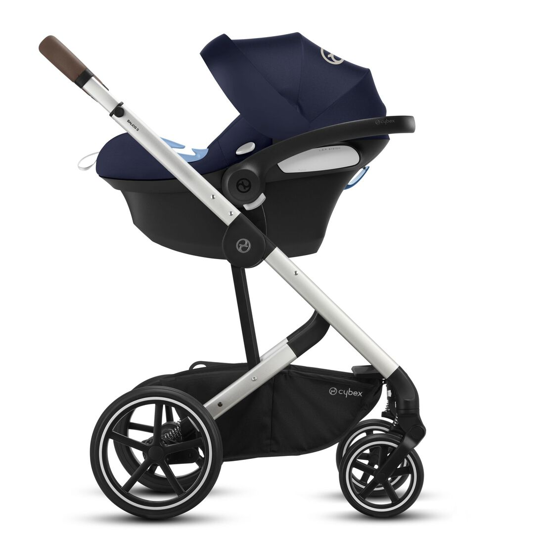 CYBEX Balios S Lux - Navy Blue (Silver Frame) in Navy Blue (Silver Frame) large image number 3