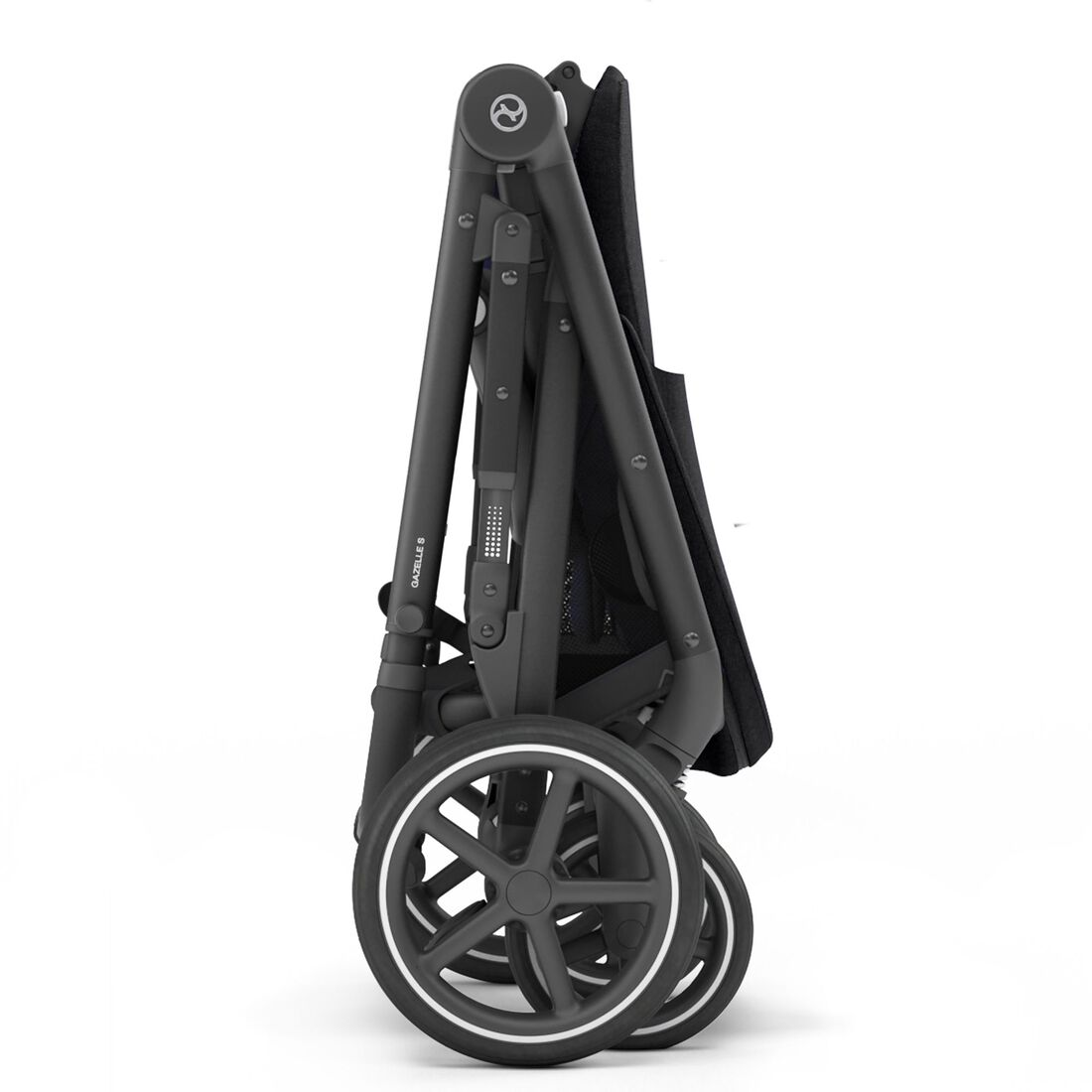 CYBEX Gazelle S - Deep Black (Schwarzer Rahmen) in Deep Black (Black Frame) large Bild 8