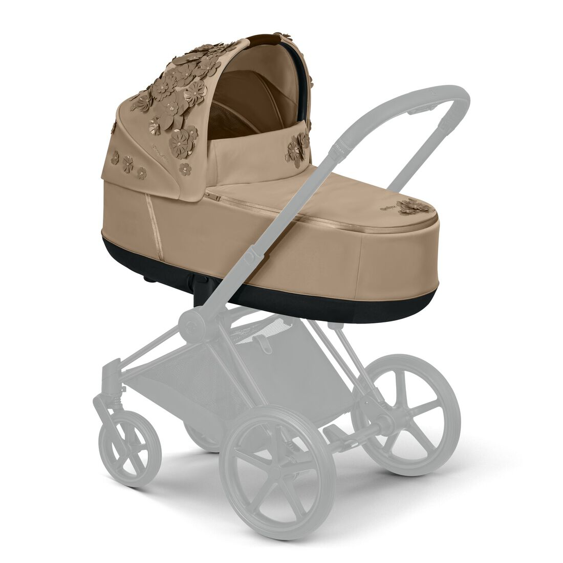 CYBEX Priam Lux Carry Cot - Nude Beige in Nude Beige large image number 5