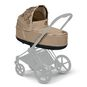 CYBEX Priam Lux Carry Cot - Nude Beige in Nude Beige large image number 5 Small