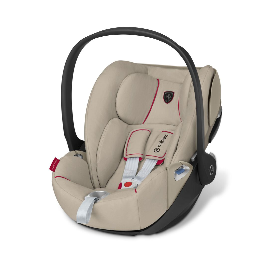 CYBEX Cloud Z i-Size - Ferrari Silver Grey in Ferrari Silver Grey large Bild 2