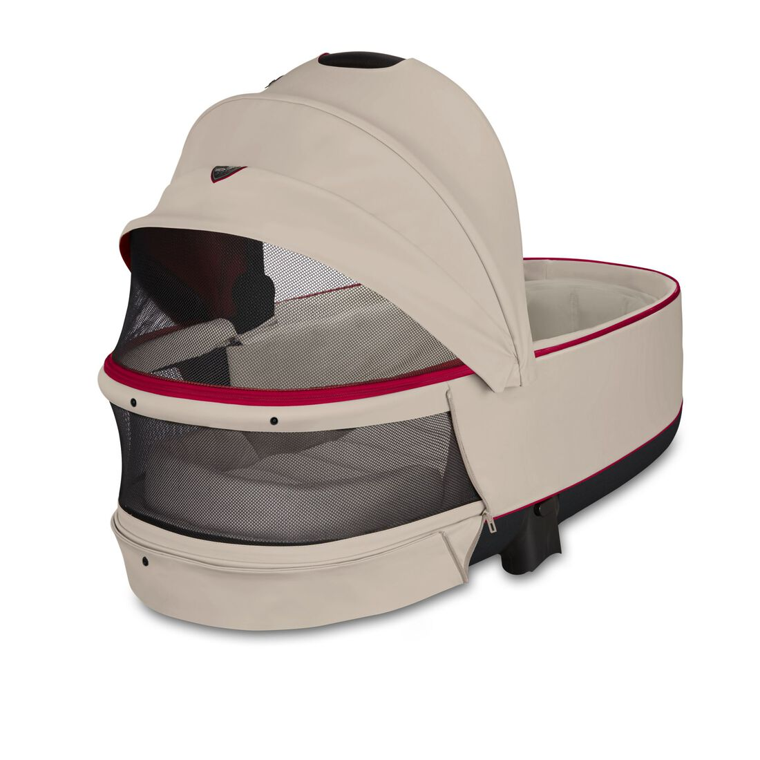 CYBEX Priam Lux Carry Cot - Ferrari Silver Grey in Ferrari Silver Grey large Bild 3