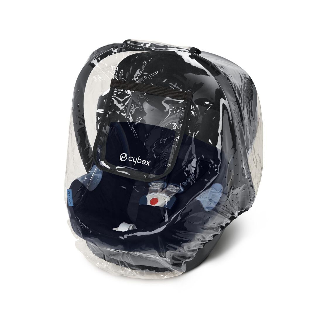 CYBEX Rain Cover Aton/Cloud Series - Transparent in Transparent large image number 1