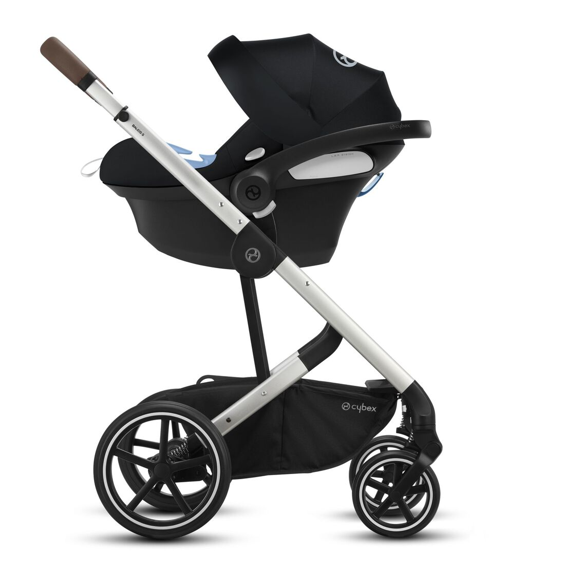 CYBEX Balios S Lux - Deep Black (Silver Frame) in Deep Black (Silver Frame) large image number 3