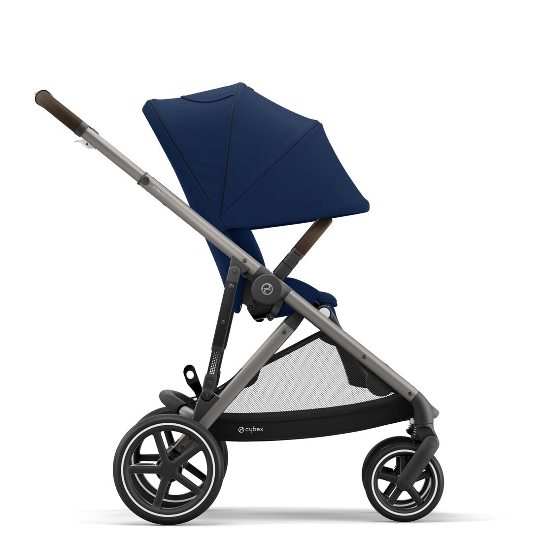 CYBEX Gazelle S - Navy Blue (Taupe Frame) in Navy Blue (Taupe Frame) large image number 6