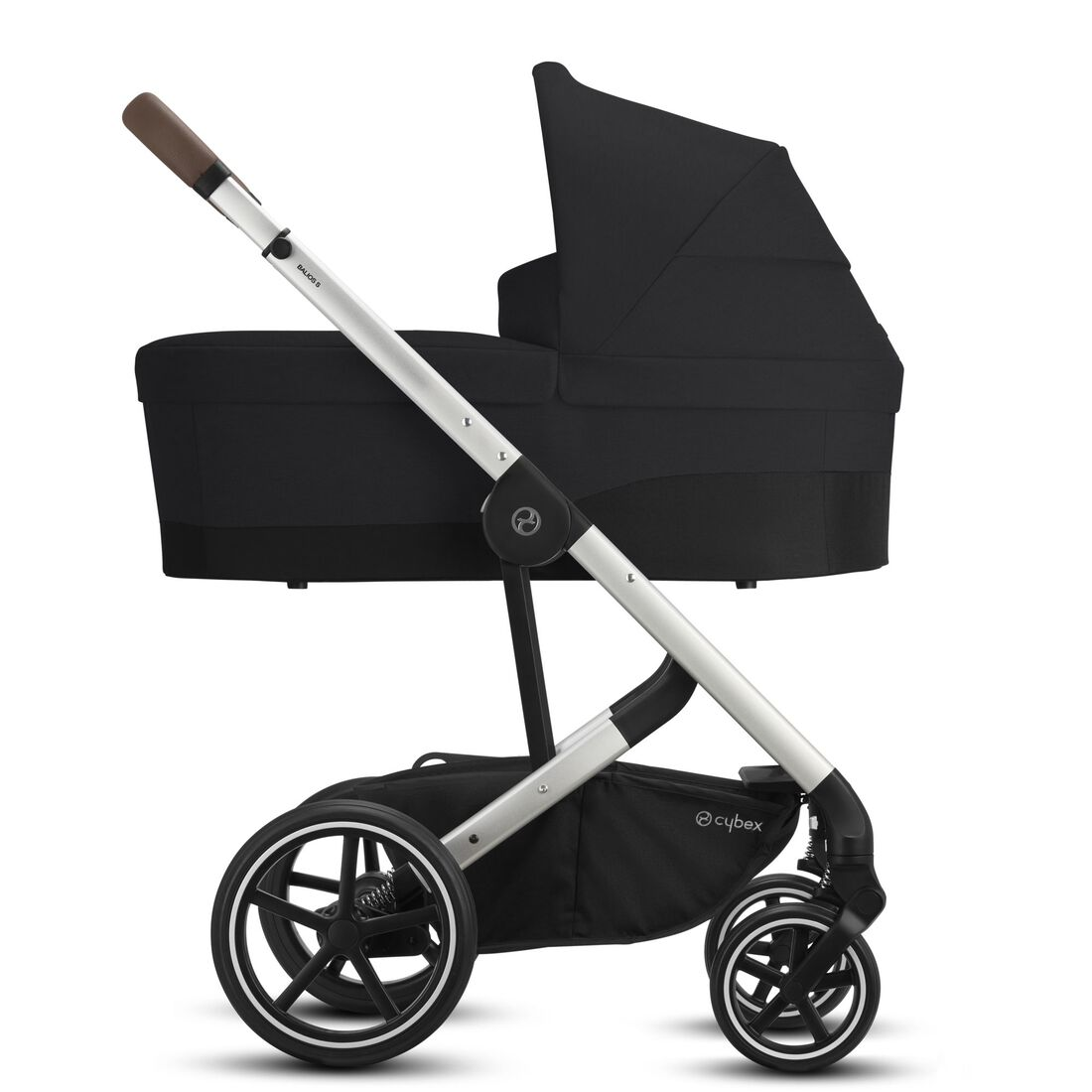 CYBEX Balios S Lux - Deep Black (Silver Frame) in Deep Black (Silver Frame) large image number 2