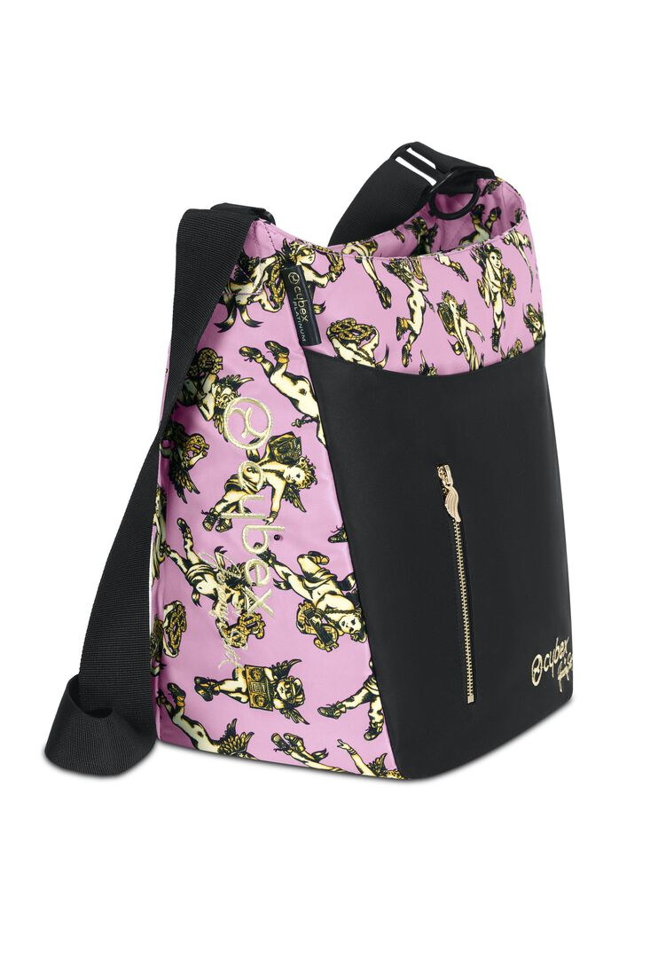 CYBEX Changing Bag Jeremy Scott - Cherubs Pink in Cherubs Pink large image number 2